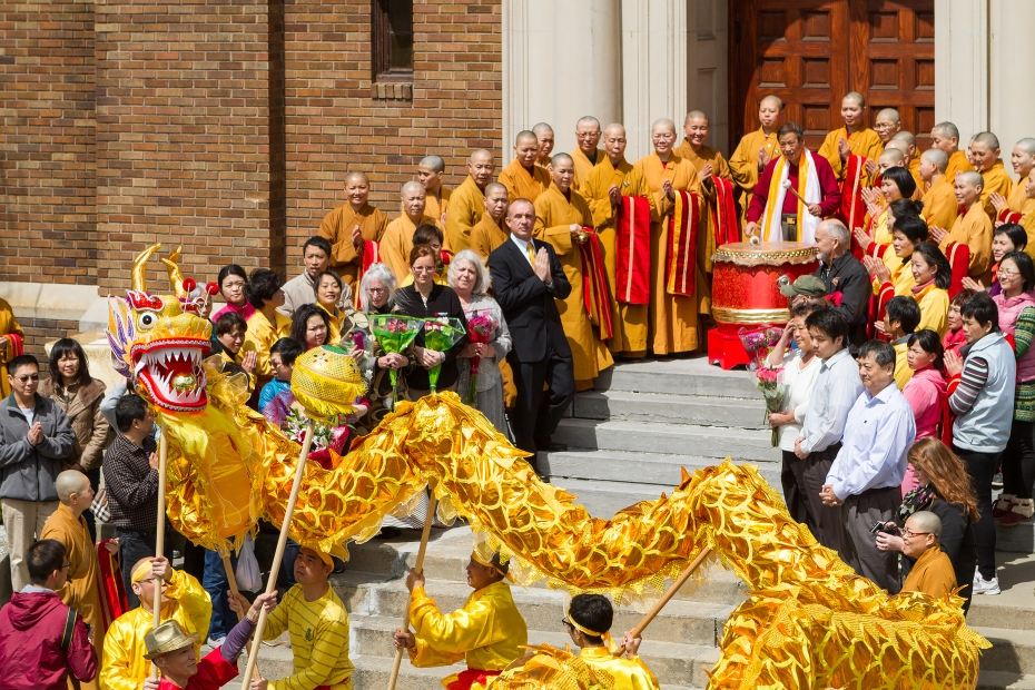 Goddess of Mercy Temple Buddha's Birthday May 2014